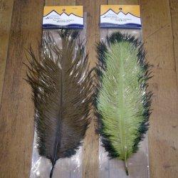 画像1: 【Spirit River】 Tiny Tip Dyed Ostrich