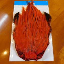 画像1: 【Eumer】 Indian cock neck cape hackle