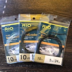 画像1: 【RIO】 Light Scandi VersiLeader 10ft (24lb)