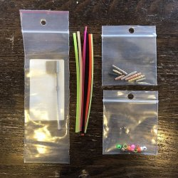 画像2: 【Eumer】 EUMER Micro Tube Fly Tying Kit (No Hair)
