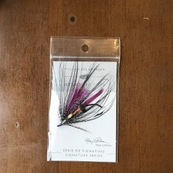 画像3: 【ATLANTICFLIES】 LeBlanc's Purple Spey Black