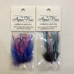 画像1: 【Aqua Flies】 Stu's Jungle Tail Turbo Cone