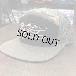 画像1:  【OPST】7 Panel Camo Trucker Hat -Snapback