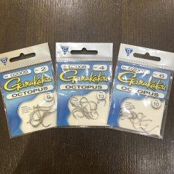 画像1: 【GamakatsuUSA】Octopus Hooks - Nickel