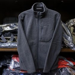 画像1: 【SIMMS】RIVERSHED FULL ZIP - CARBON