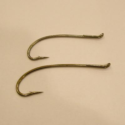 DAIICHI ALEC JACKSON BLACK STEELHEAD IRON HOOK Fly Tying Hooks