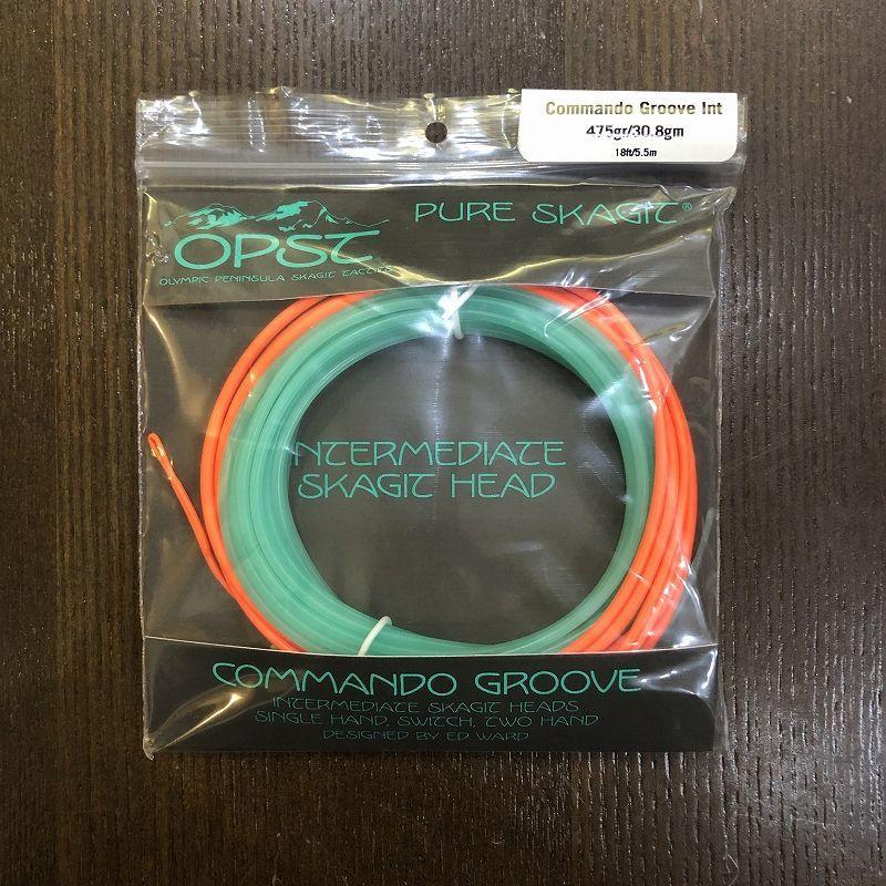OPST Commando Groove Intermediate Skagit Head 375gr
